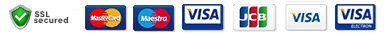 Acceping Cards : Visa, Mastercard, America Express and Discover Network