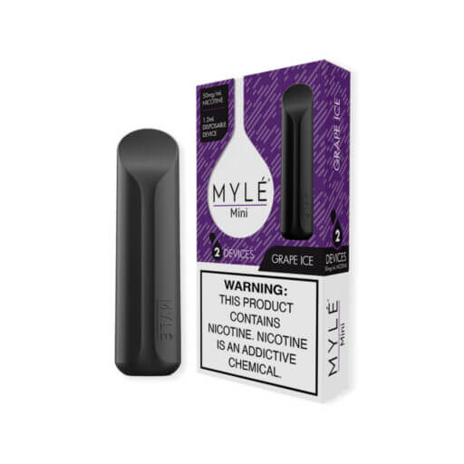 MYLÉ Mini Disposable - Grape Ice Flavor