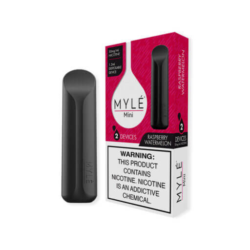 MYLÉ Mini Disposable - Raspberry Watermelon Flavor