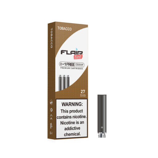 Main image of Flair E-cig Refills - Cartomizers (27 Mg Tobacco)