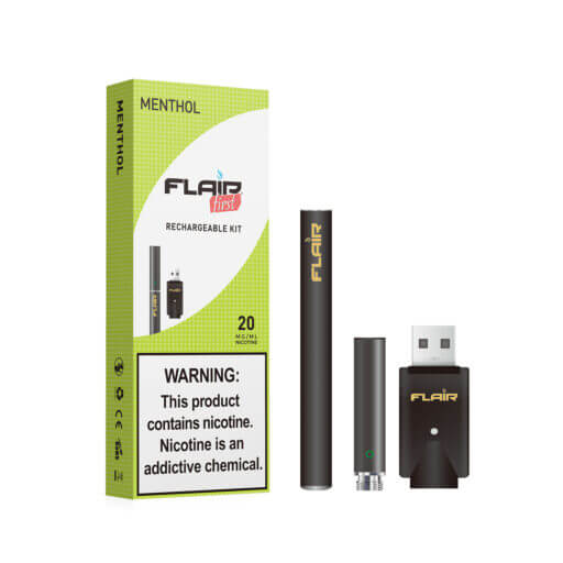 Main image of Flair Rechargeable E-cig Kit (20 Mg Menthol)