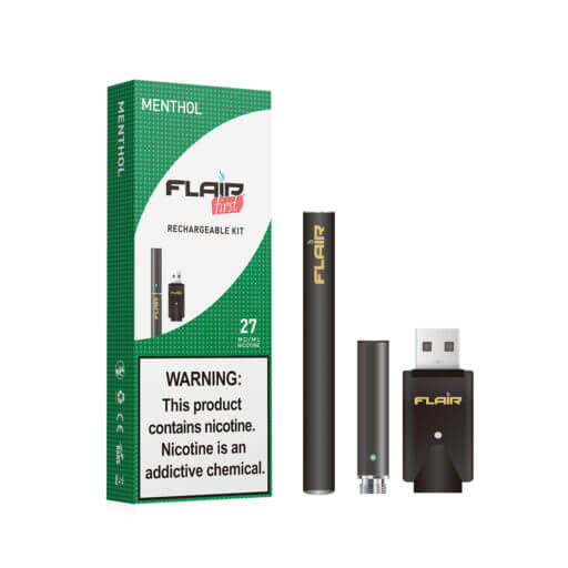 Main image of Flair Rechargeable E-cig Kit (27 Mg Menthol)