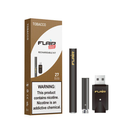 Main image of Flair Rechargeable E-cig Kit (27 Mg Tobacco)