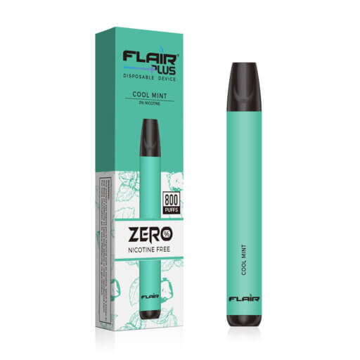 Main image of flair disposable device zero nicotine cool mint