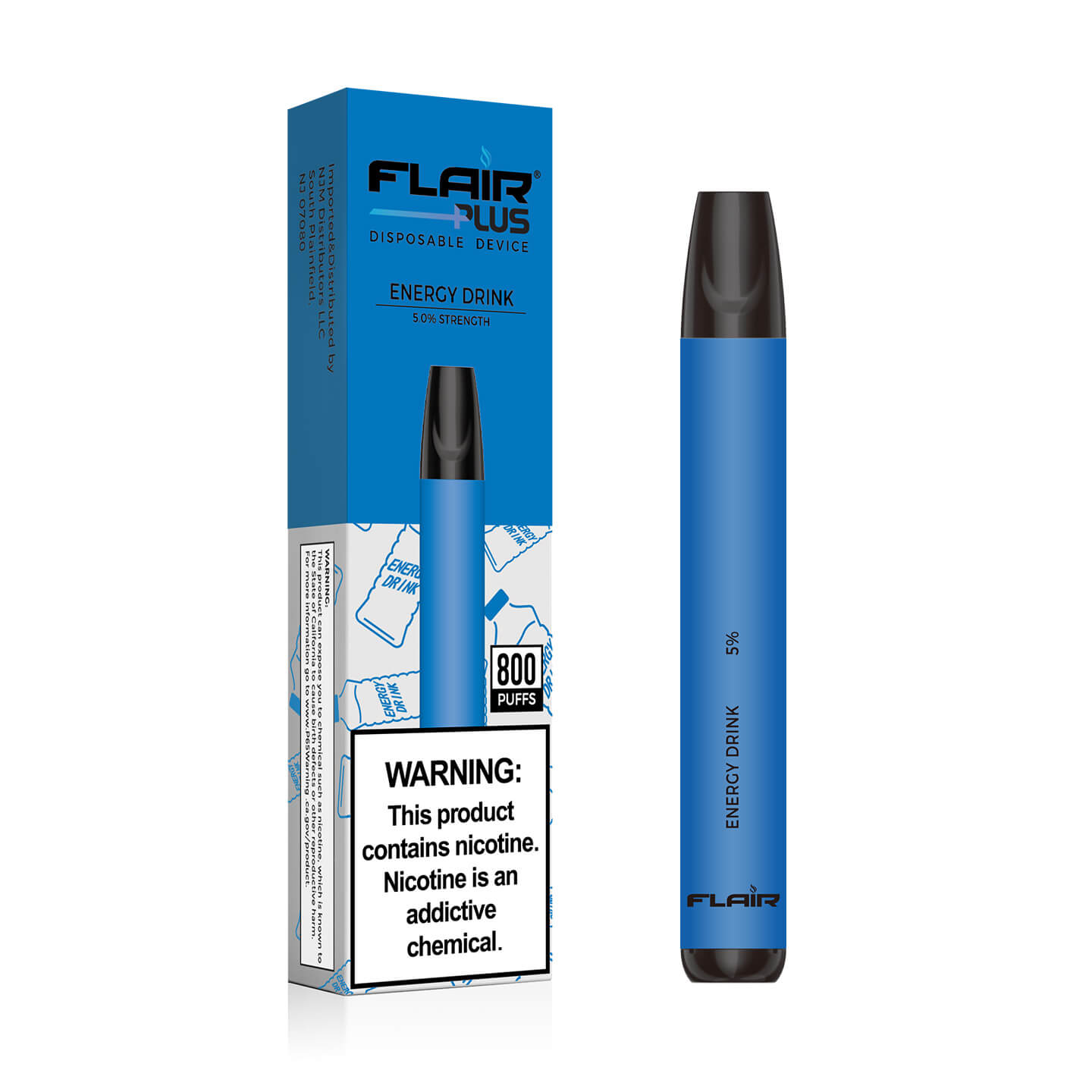 Main image of Flair Plus Disposable Devices (Energy Drink - 800 Puffs)